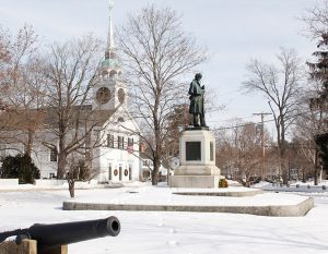 Soldiers Monument Amherst NH 03031